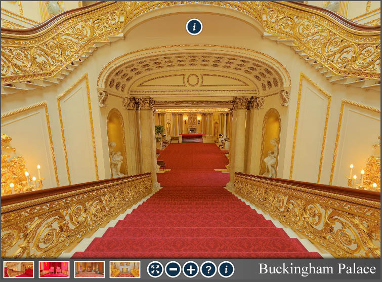 360 Virtual Tour of Buckingham Palace